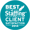 2014 Best of Staffing Client® Award